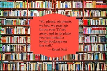 Bookcase - Roald Dahl
