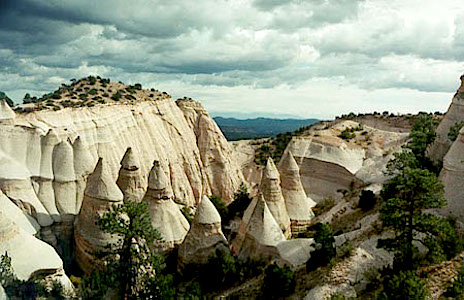 New Mexico Tent Rocks Wikimedia Commons