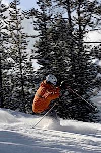 Kristina Skiing