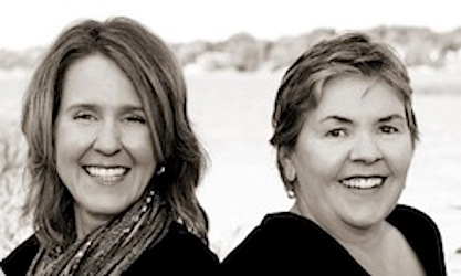 Corina Koch MacLeod and Carla Douglas