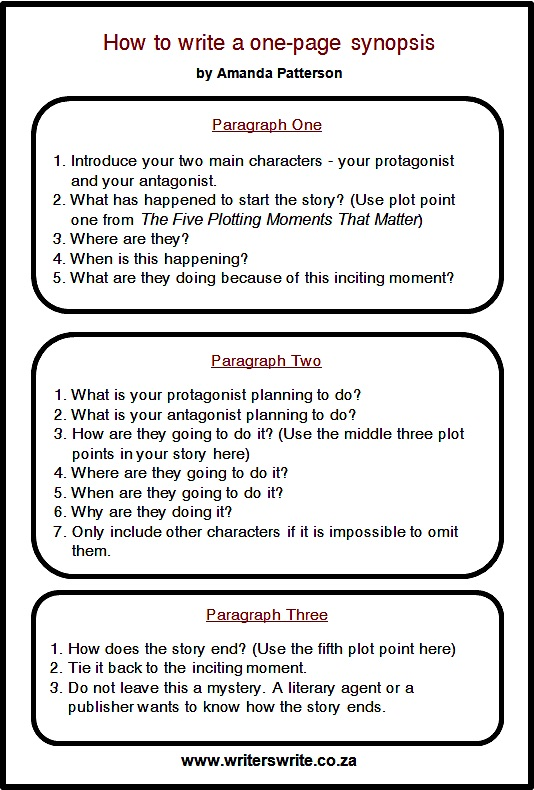 medium_How_to_write_a_one-page_synopsis_by_Amanda_Patterson
