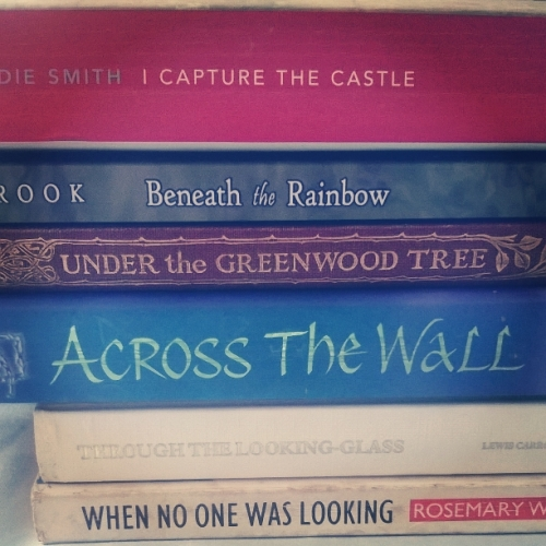 book spine poetry, the last krystallos,