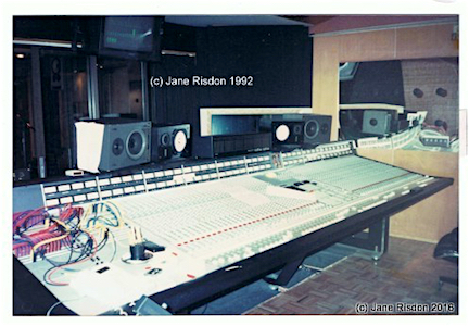 SSL Ecording Desk