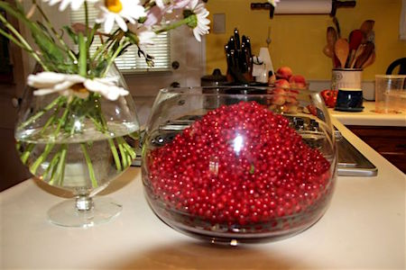 Blog Photo - Jelly Currants in Glass Bowl