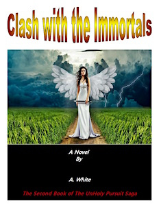 The clash with the immortals bookcover