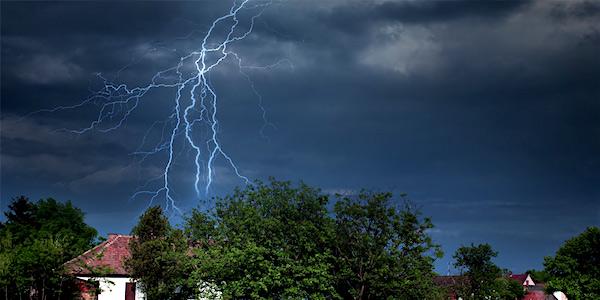 lightning-strikes-house