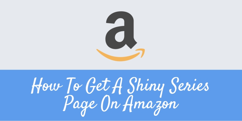How to get a series page on amazon