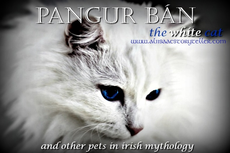Pangur Bán, the White Cat and Other Pets in Irish Mythology. www.aliisaacstoryteller.com