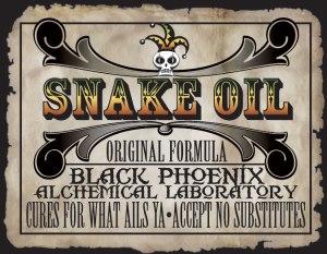 Snake Oil Warning