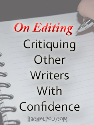 Critiquing For Other Writers