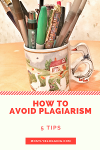How to commit plagiarism