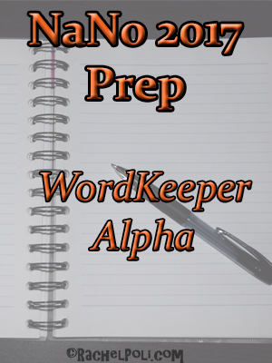 WordKeeper Alpha