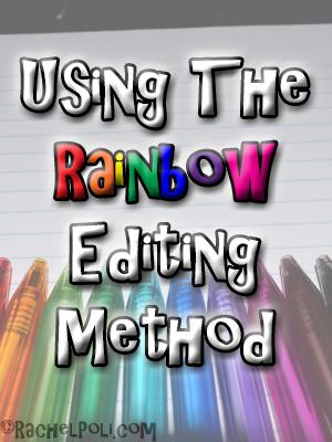 Using The Rainbow Editing Method | RachelPoli.com
