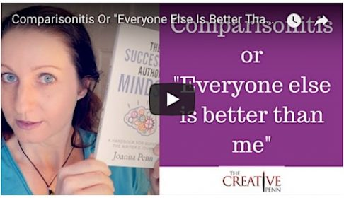 "Comparisonitis – Or – ""Everyone Else Is Better Than Me"" – by Joanna Penn…"