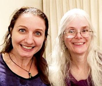Joanna and Kristine