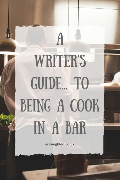 A Writer's guide to being a cook in a bar. Image: Cook working in a kitchen