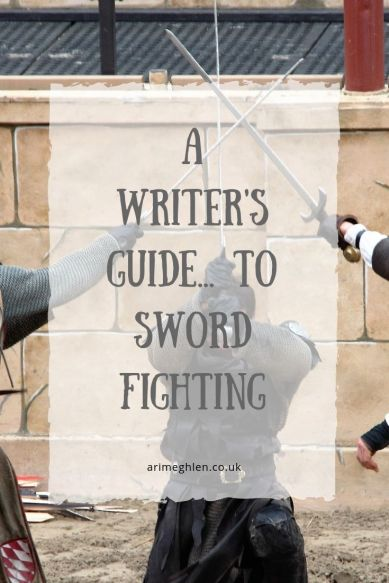 A Writer's Guide to Sword Fighting by Morgan Morrow.  Image: 3 knights fighting
