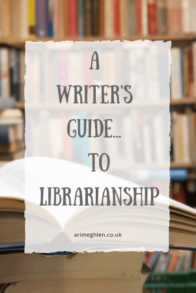 A Writer's Guide to Librarianship.  Image of books in a library from Pixabay