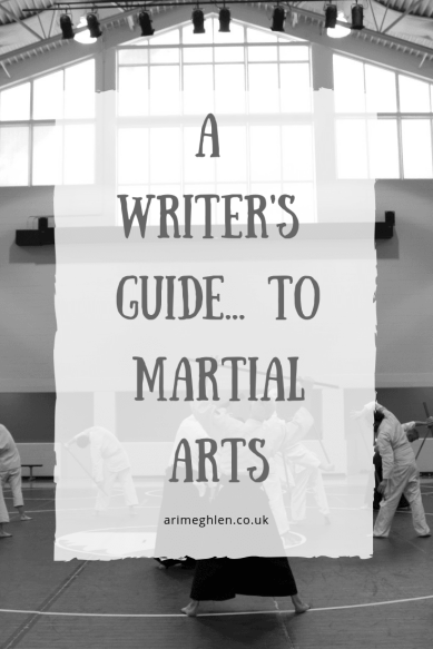 A Writer's Guide to martial arts.  Image of sparring from Pixabay