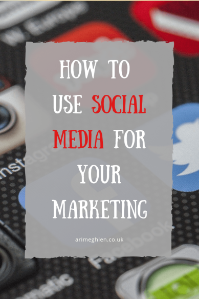 How to Use social Media for your Marketing.  Image from Pixabay