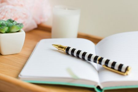 A Notebook and a Pen – by Melissa Donovan…