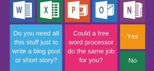 10 Totally Free Microsoft Word Alternatives For Writers – by Derek Haines…