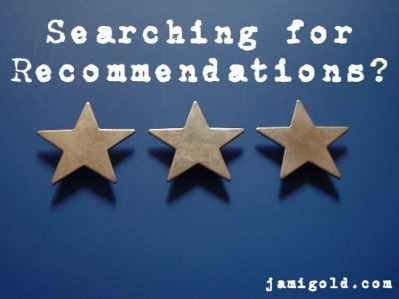 Finding Book Recommendations Beyond the Usual – by Jami Gold…
