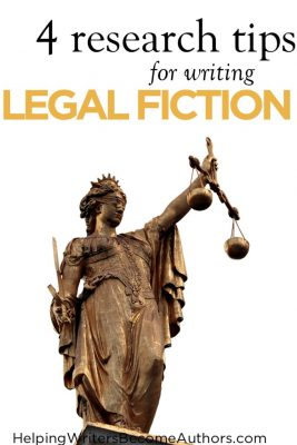 Writing Legal Fiction: 4 Research Tips – by K.M. Weiland…