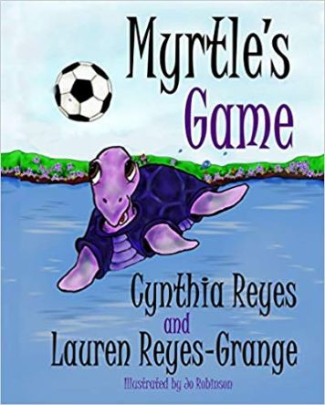 Book Cover on Amazon - Myrtles Game