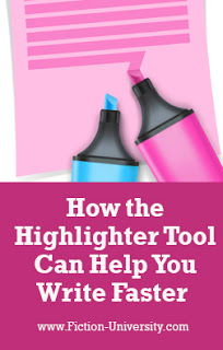 How the Highlighter Tool Can Help You Write Faster – by Joan Koster…